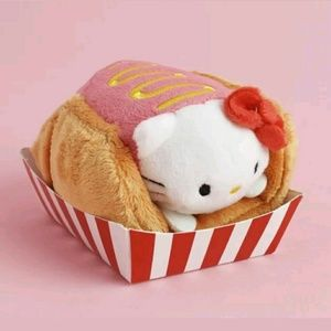 Sanrio LootCrate Tasty Hello Kitty Hot Dog Plush